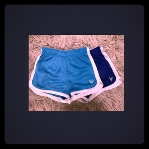 Girls/Justice athletic shorts (you get 2 shorts)